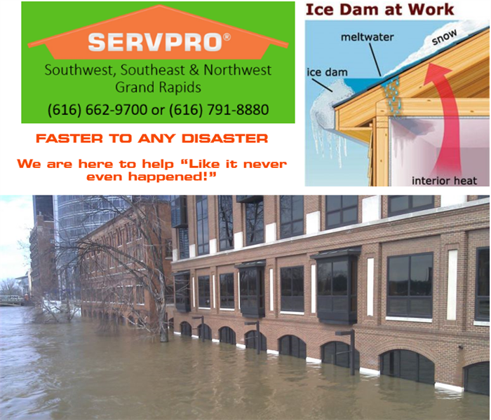 Commercial Southwest Grand Rapids, FLOODING CAN HAPPEN ANYWHERE